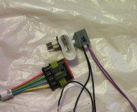Разъем для кабеля ГБО от бензонасоса ВАЗ