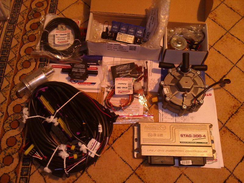 комплект газового оборудования 4 поколения с OBD