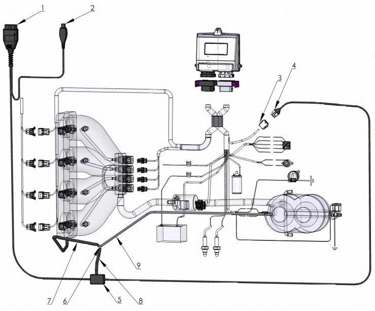и настройке адаптера OBD 2