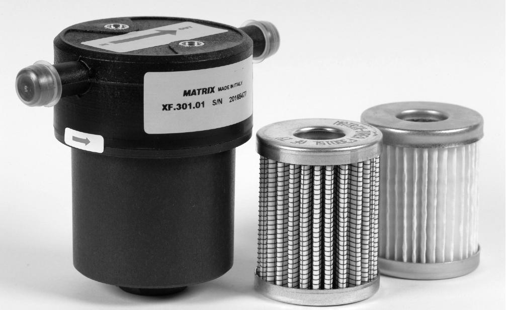 фильтр грубой очистки для газа с отстойником фирмы matrix
