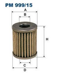 газовый фильтр тонкой очистки pm999-15