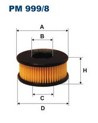 фильтр для газа pm999-8
