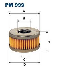 газовый фильтр тонкой очистки pm999