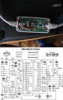 кабель для ГБО из шнура для телефона