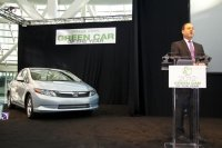 honda civic cng назван зеленым автомобилем года