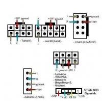 схема кабеля для ГБО