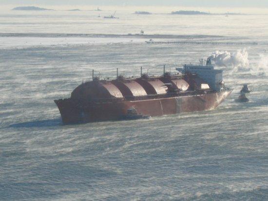 Транспортировка сжатого природного газа